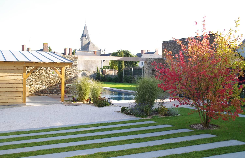 Étude paysagère pour rénovation du jardin