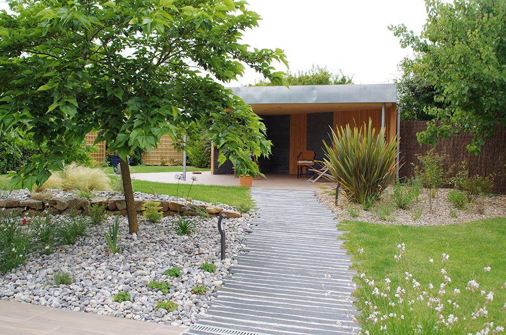 Aménagement extérieur : allée de jardin
