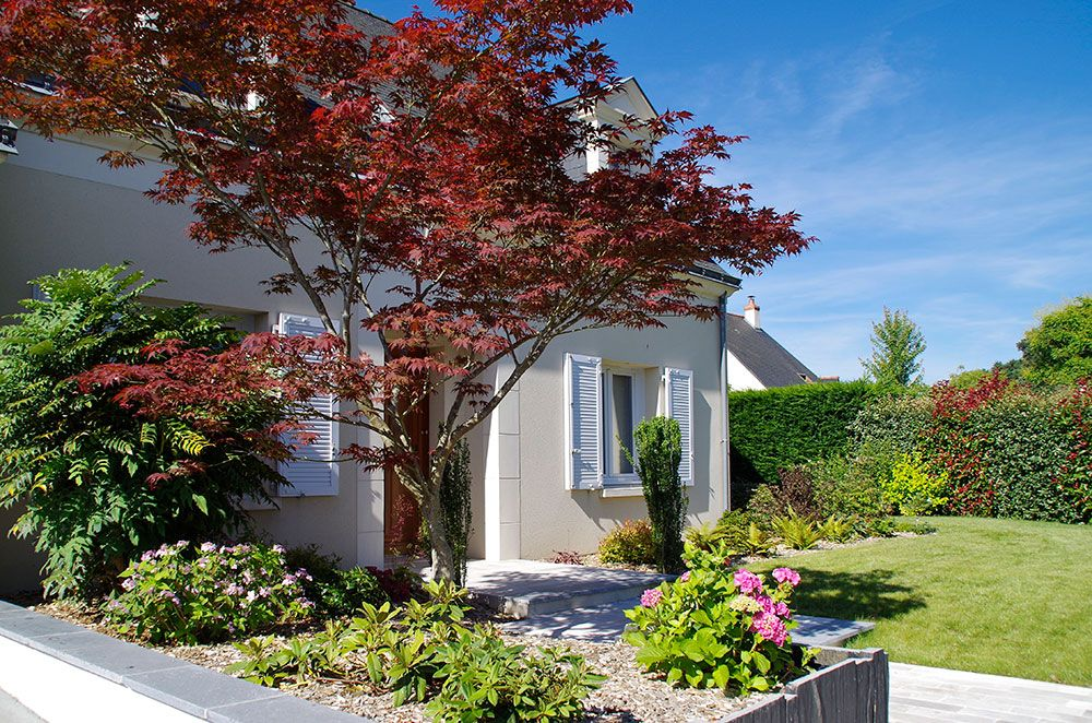 Aménagement végétal : jardinet décoratif