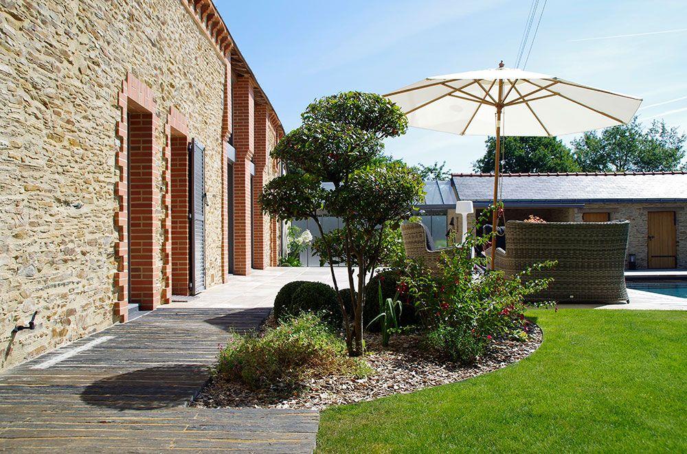 Aménagement végétal : terrasse et jardin