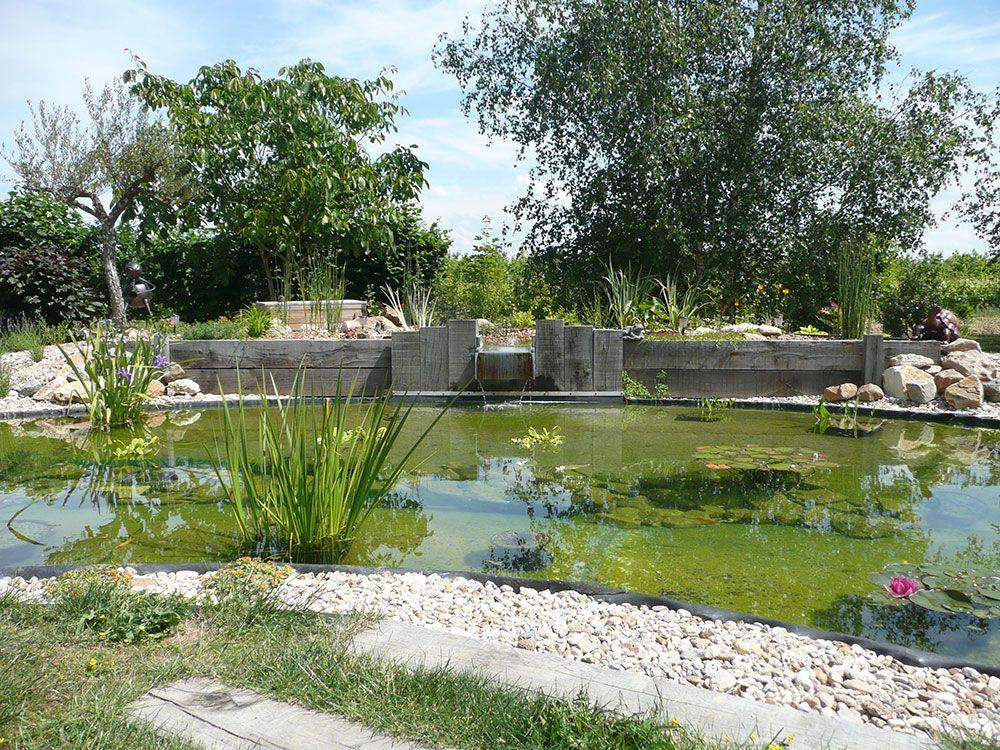Construction décorative : bassin d'agrément