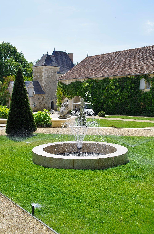 Fontaines et bassins décoratif : fontaine avec jets d'eau