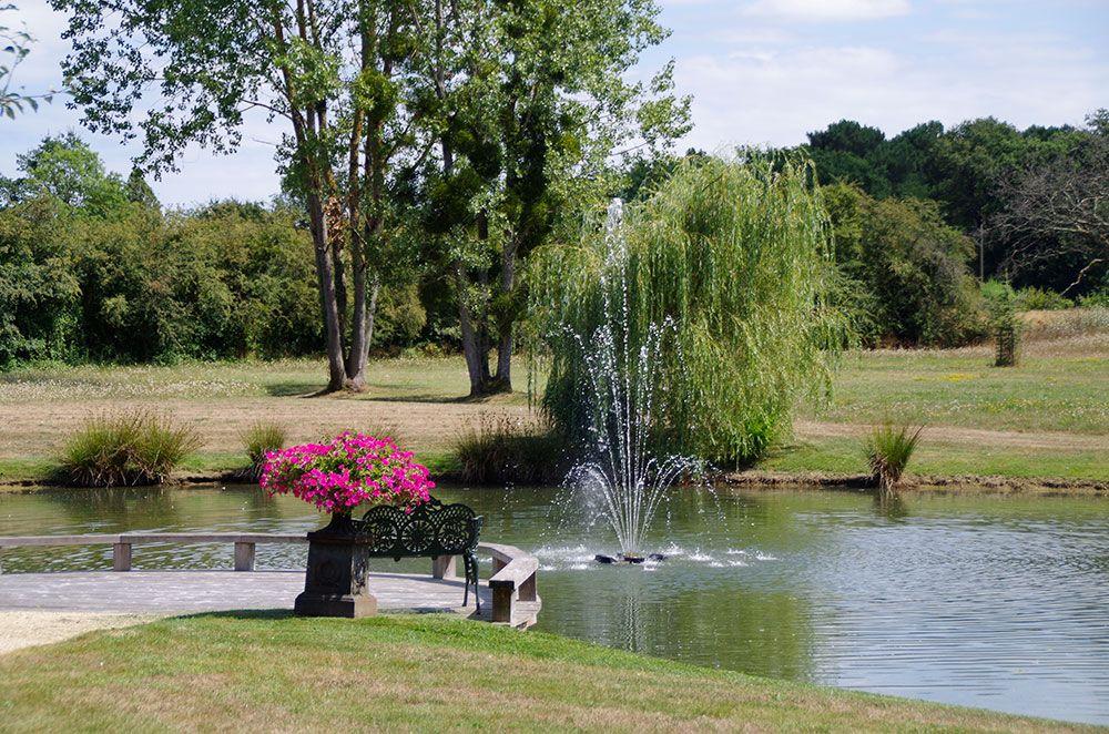 Fontaines et bassins décoratif : jets d'eau