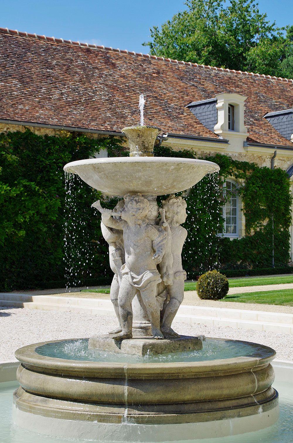 Fontaines et bassins décoratif : fontaine décorative