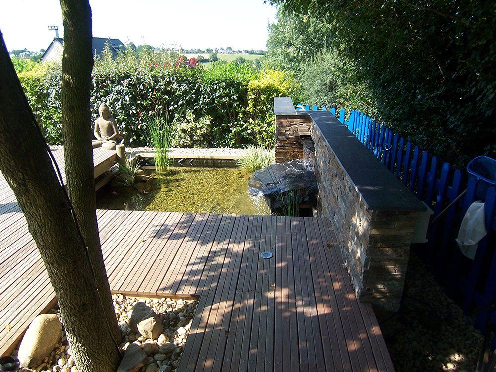 Fontaines et bassins décoratif : bassin à poisson