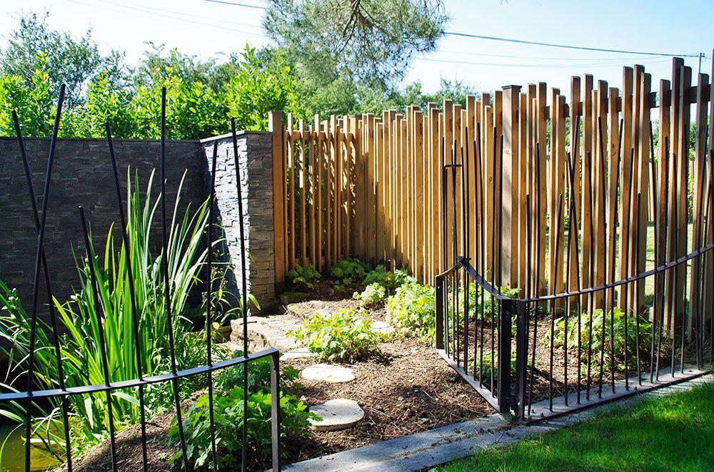 Construction décorative : jardin de brise vue