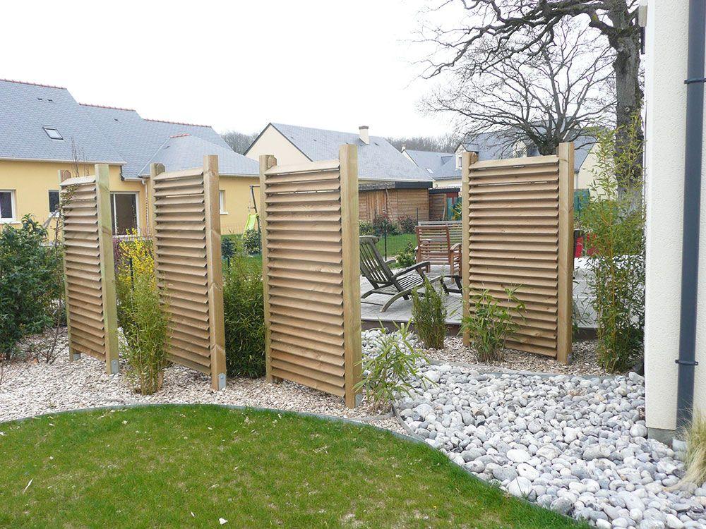 Construction décorative : clôture et brise vue