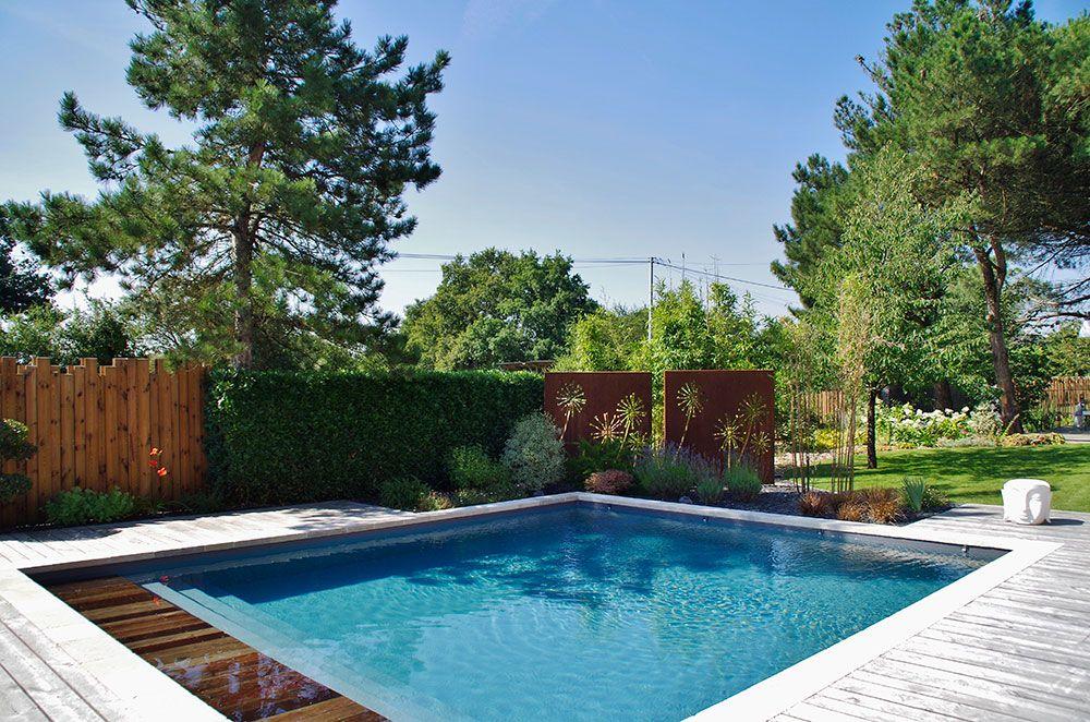 Installation de piscine sur mesure à angers