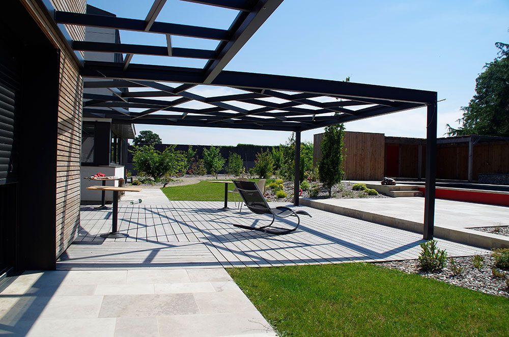 Installation de terrasse bois à angers avec Verthème