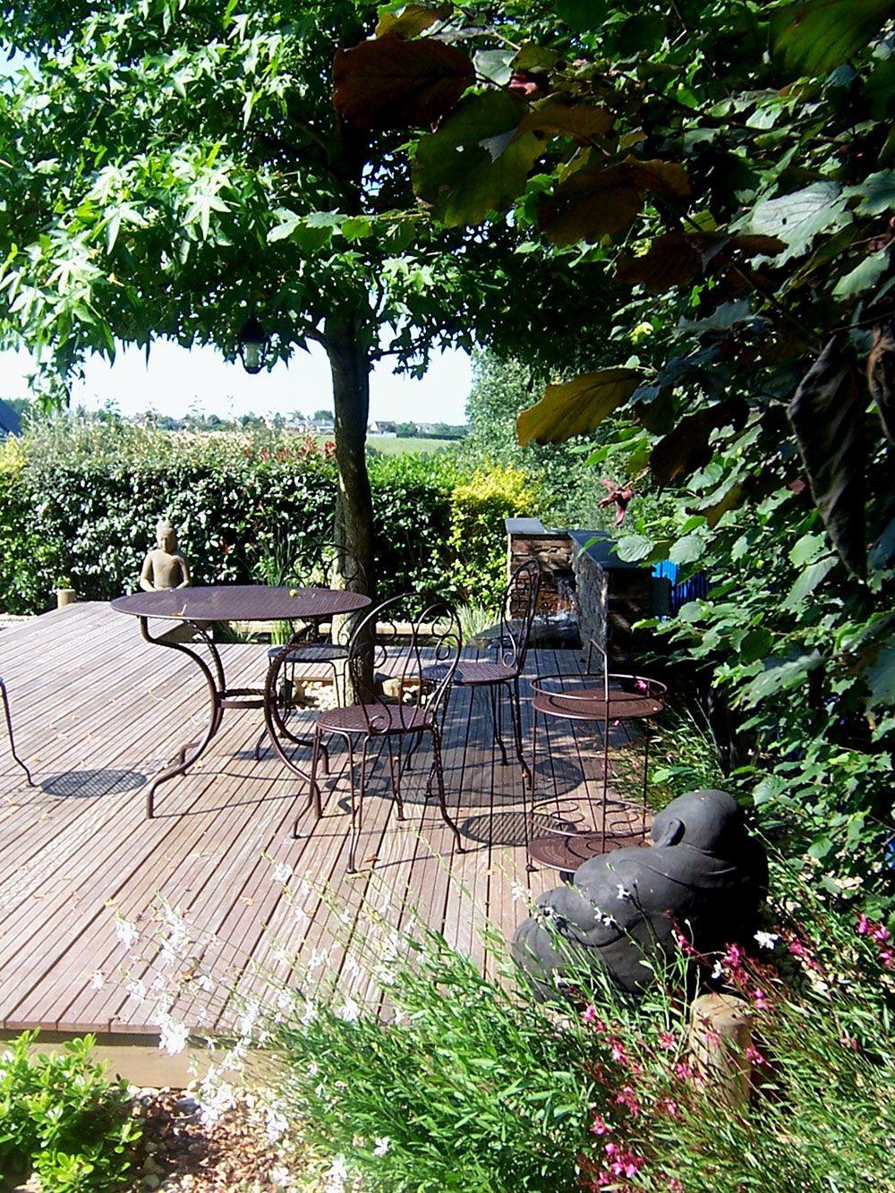 Installation de terrasse à angers avec Verthème