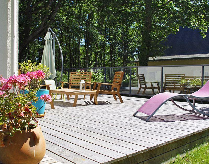 conception terrasse en bois à angers