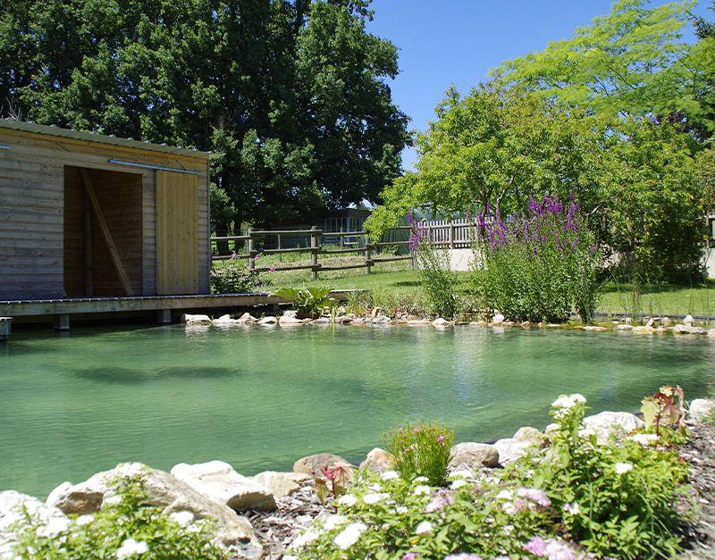 conception fontaine et bassin de jardin